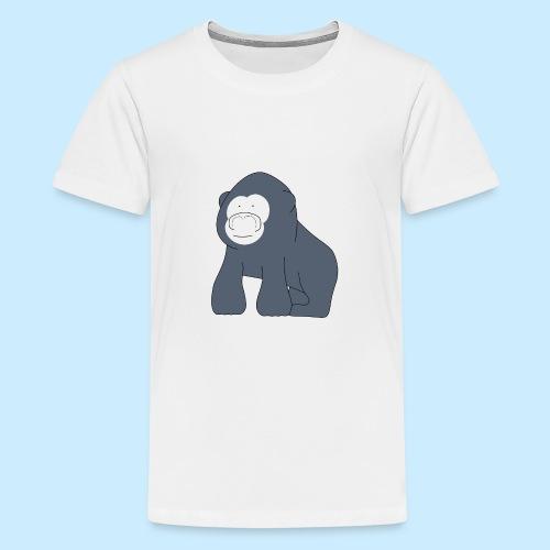 Baby Gorilla - Teenage Premium T-Shirt
