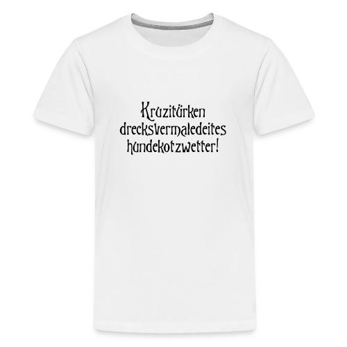 hundekotzwetter - Teenager Premium T-Shirt