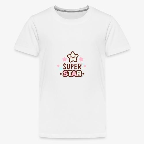 Super Child / Super Star - T-Shirt Print - Teenager Premium T-Shirt