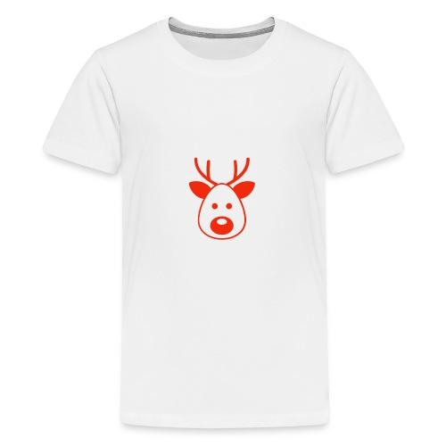 Rudolf das Rentier - Teenager Premium T-Shirt