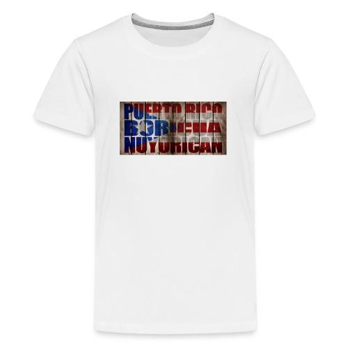 # Salsa Es La Cura Puerto Rico Boricua Nuyorican - T-shirt Premium Ado
