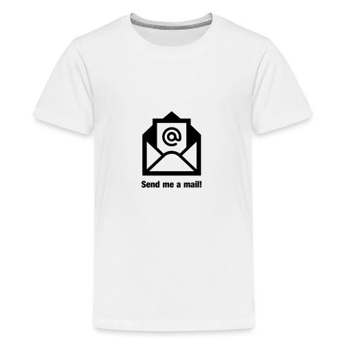 Mail senden - Teenager Premium T-Shirt