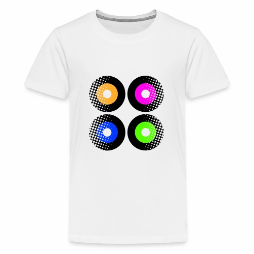 Schallplatten Inspiration - Teenager Premium T-Shirt