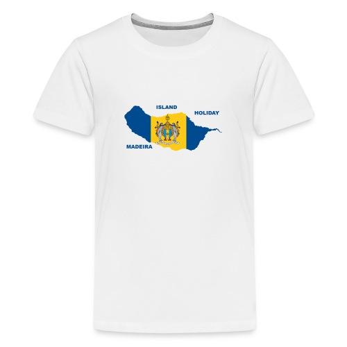 Madeira Insel Urlaub Portugal - Teenager Premium T-Shirt