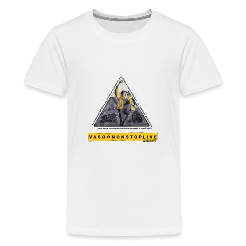 TRIANGOLO VASCO - Maglietta Premium per ragazzi