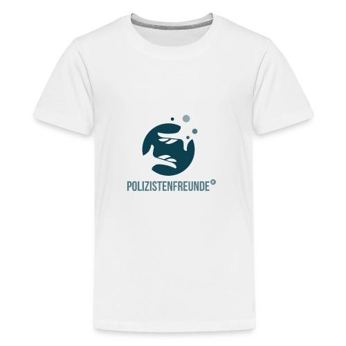 Polizistenfreunde.de Beratung Design - Teenager Premium T-Shirt