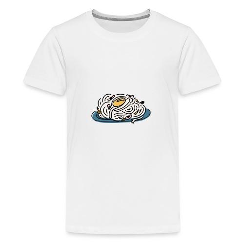 Carbonara Nudeln - Teenager Premium T-Shirt