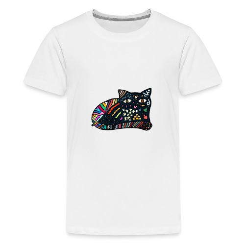 Traumkatze - Teenager Premium T-Shirt