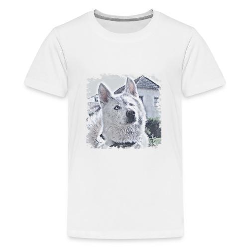 Pass auf - Teenager Premium T-Shirt