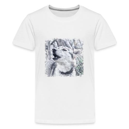 Jaulender Husky - Teenager Premium T-Shirt