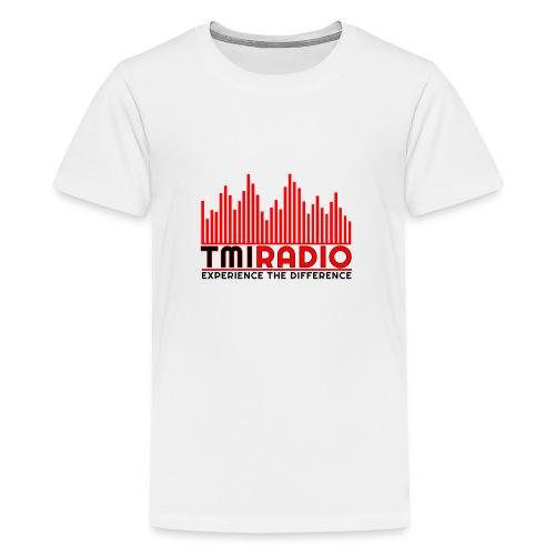 NEW TMI LOGO RED AND BLACK 2000 - Teenage Premium T-Shirt