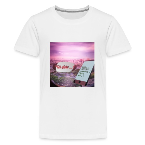 Tal Aviv is calling - traumhafter Sehnsuchtsort - Teenager Premium T-Shirt