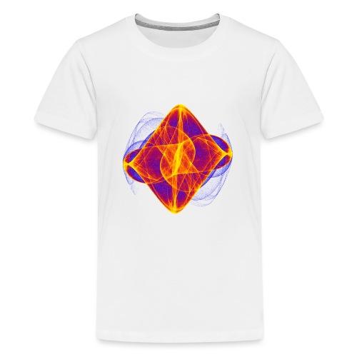 Aquarell Kunstgrafik Gemälde Bild Chaos 6769bry - Teenager Premium T-Shirt