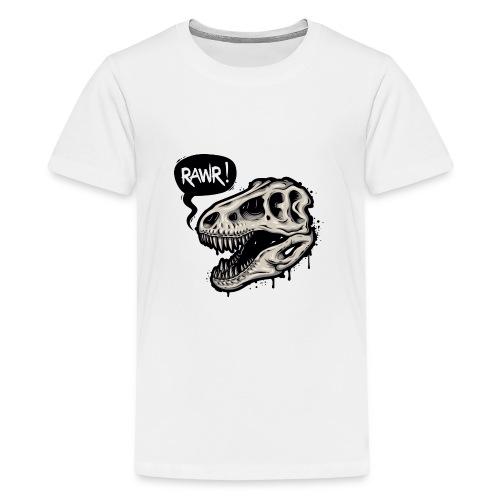 DINO RAWR 1 - Camiseta premium adolescente