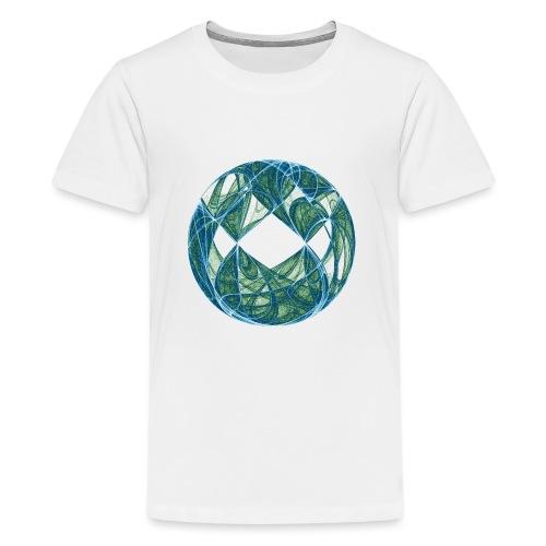 Harmonie im Ozean der Elemente 446oce - Teenager Premium T-Shirt
