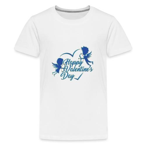 Valentine Day - Premium-T-shirt tonåring