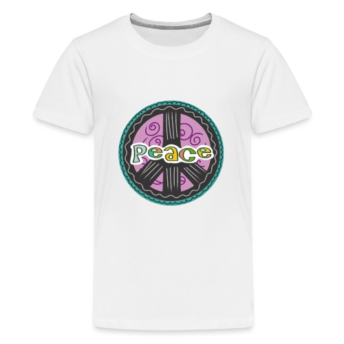 Peace - Teenager Premium T-Shirt