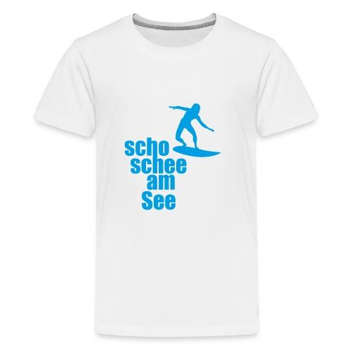 scho schee am See Surfer 04 - Teenager Premium T-Shirt