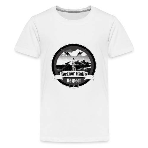 Bognor Radio Respect - Teenage Premium T-Shirt