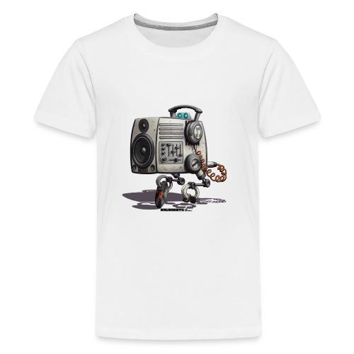The S.O.U.N.D. Robot! - Teenager premium T-shirt