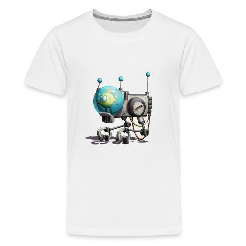 The B.U.B.B.L.E. Robot! - Teenager premium T-shirt