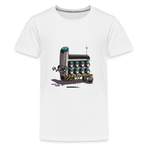 The S.T.A.F.F. Robot! - Teenager premium T-shirt