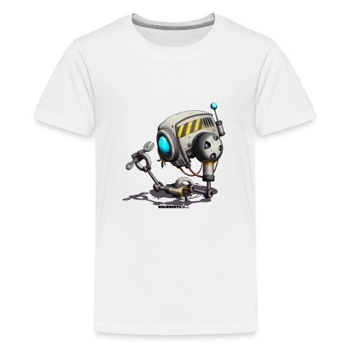 The T.O.O.L. Robot! - Teenager premium T-shirt