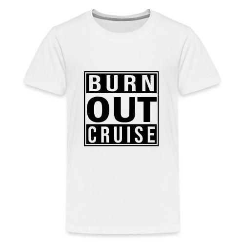 Kreuzfluenzer - Burnout Cruise - Teenager Premium T-Shirt