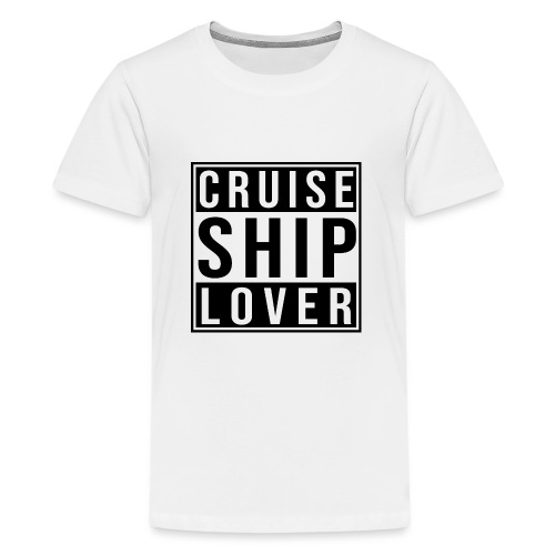 Kreuzfluenzer - Cruise Ship Lover - Teenager Premium T-Shirt