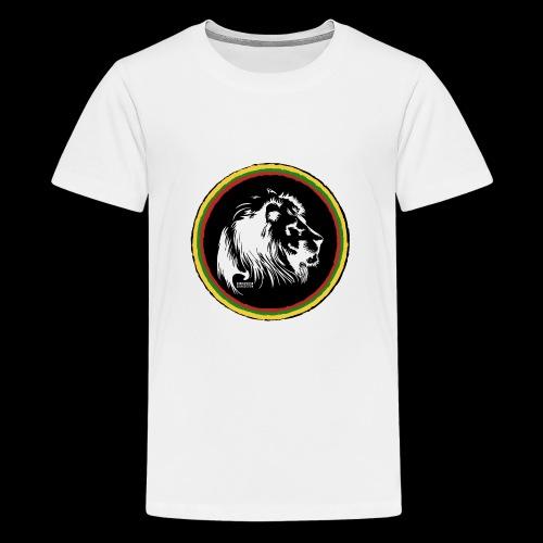 LION HEAD SISSOR CUT UNDERGROUND SOUNDSYSTEM - Teenager Premium T-Shirt