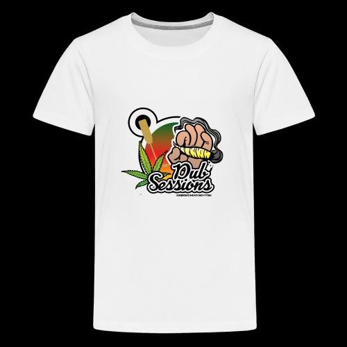 DUB SESSIONS UnderGroundSoundSystem - Teenager Premium T-Shirt