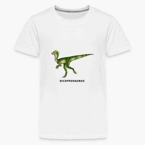 Dilophosaurus - Camiseta premium adolescente