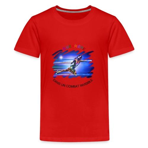Guerrière dans un combat invisible - T-shirt Premium Ado