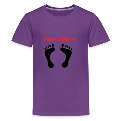 Fier d'être pied-noir - T-shirt Premium Ado