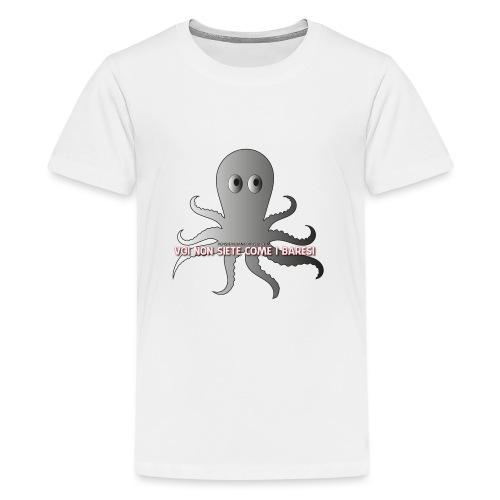 LogoVNCIB - Maglietta Premium per ragazzi