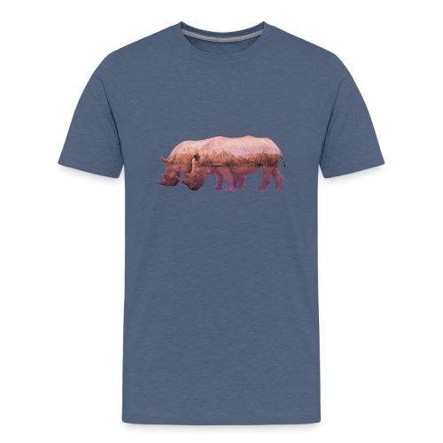 Nashorn Alpen - Teenager Premium T-Shirt