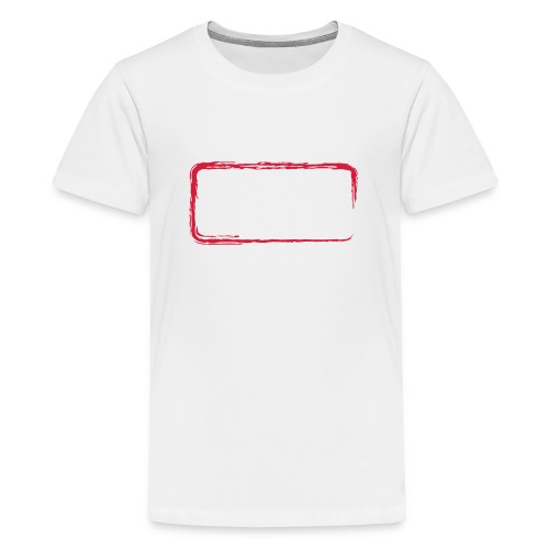 Rahmen_01 - Teenager Premium T-Shirt