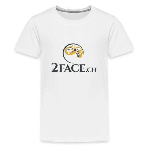 2face.ch - Teenager Premium T-Shirt