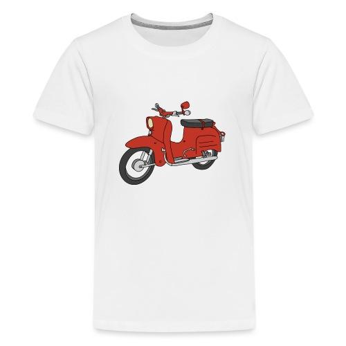 Schwalbe (ibizarot) - Teenager Premium T-Shirt