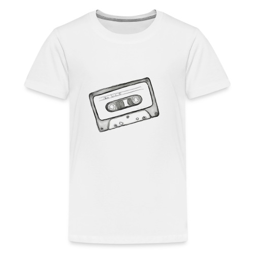 kassette Mix-Tape - Teenager Premium T-Shirt
