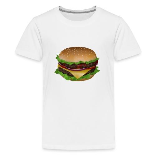 Burger - Premium-T-shirt tonåring