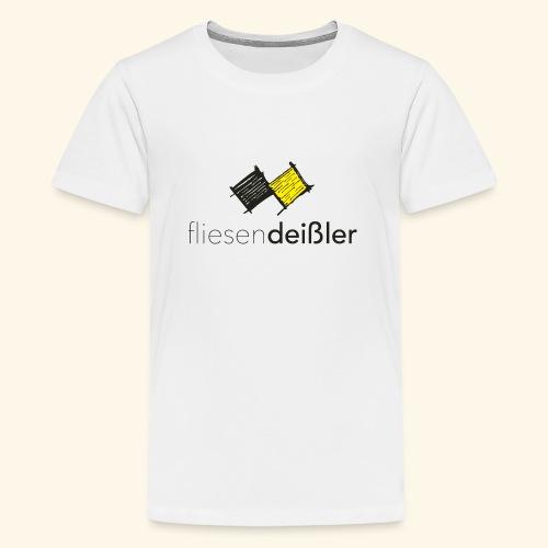 fliesendeißler-2018-safe - Teenager Premium T-Shirt