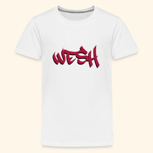 WESH Tag - T-shirt Premium Ado