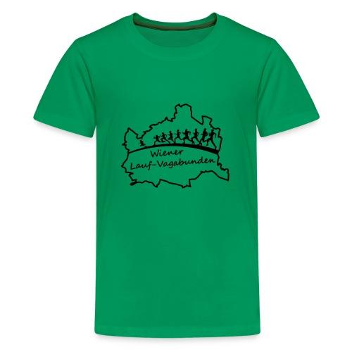 Laufvagabunden T Shirt - Teenager Premium T-Shirt