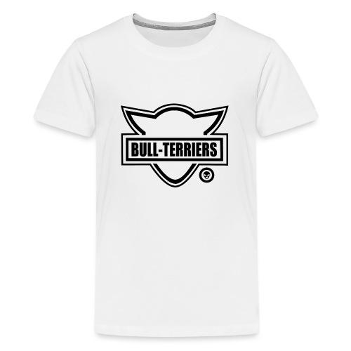 Bull Terrier Original Logo - Teenage Premium T-Shirt