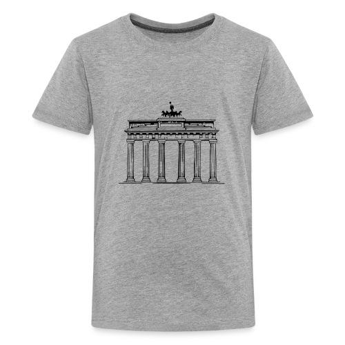 Brandenburger Tor Berlin Victoria Streitwagen - Teenager Premium T-Shirt