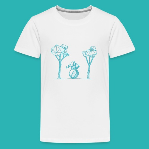 Rotolare_o_capitombolare_lightblu-png - Maglietta Premium per ragazzi
