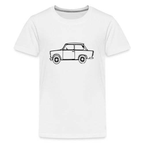 Trabant Outlines - Teenager Premium T-Shirt