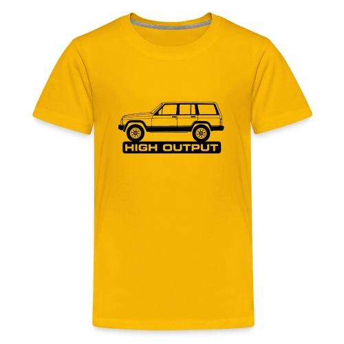 Jeep XJ High Output - Autonaut.com - Teenage Premium T-Shirt