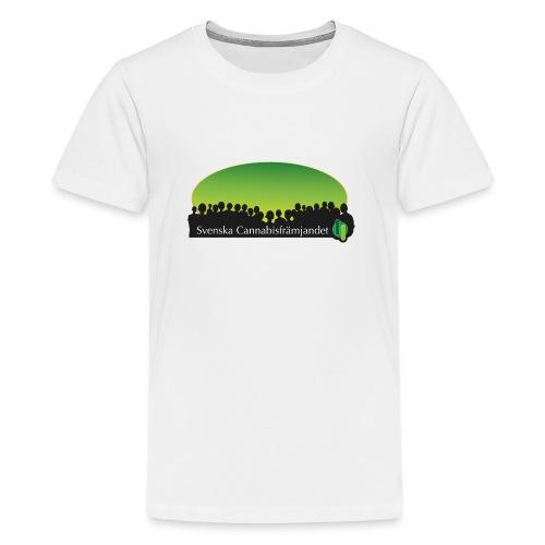 Svenska Cannabisfrämjandet - Premium-T-shirt tonåring